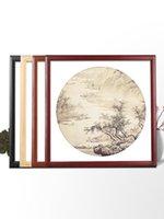 Cornici American Style Painting Frage Wood Rettangolo Single-Frame Modern Classic Quadros Decorativos Home Decor BD50XK