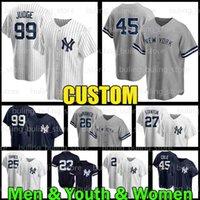Yankees Jersey 99 Aaron Juge 45 Gerrit Cole Nouveau 2 Derek Jeter York Custom 26 DJ Lemahieu Mariano 42 Rivera 24 Gary Sanchez 23 Don Mattingly 3 Babe Ruth 77 Clint Frazier