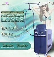 Profesjonalne Długie Pulse Laserowe Usuwanie włosów ND YAG 1064NM ALEXANDRITE 755NM Lazer DCD COOLING SPA Salon