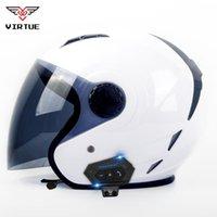 Motocicleta Bluetooth Capacete Motorset Headset Moto Moto OorTelefão Draadloze Speaker Motorbike Crash Helm Casco Met Helmets