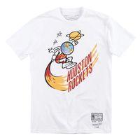 X Jersey Ness Travis Mitchell Скотт ракеты с коротким рукавом футболка