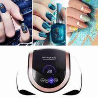 Nail Dryers 180W Dryer UV Gel Polish Drying Lamp For Manicure With Sensor Professional Smart Salon LED Art 6 J0J1