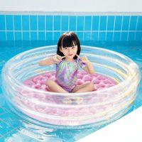 Sommerkinder Aufblasbare Pailletten Swim Pool Blow Up Kiddie Lounge Runde Schwimmen Floating Kissen Für Kinder Badewanne Zubehör