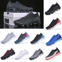 Fly 2 .0 Knit 3 Sneakers Hommes Chaussures de course Triple Noir Blanc Volt Cinder Moc Dusty Cactus Femmes Baskets Vapeurs Coussins Sports