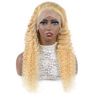 Ishow 13 * 4 transparente spitze frontperücke brasilianische body wave menschliche haarperücken blonde farbe 613 peruaner gerade 10-30inch für Frauen Alle Altersgruppen locker tief