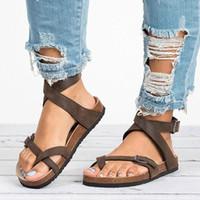 Adisputent 2020 캐주얼 신발 여성 샌들 플랫 비치 신발 플립 플롭 숙녀 샌들 여름 여성 chaussures femme w3rz #