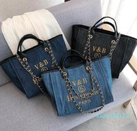 Women handbags Rive Gauche Tote Bag shopping bag handbag high quality fashion linen Large Beach bags luxury designer travel as23
