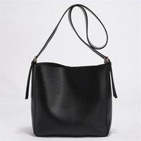 handbags Wide shoulder strap bags autumn and winter new large-capacity tote bag retro messenger cross body Ladies