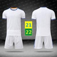 EE.UU. FAST 21 22 Soccer Wear Cheatsuits Blanco Manga corta Traje de manga corta Home Jersey Hombre Running Niños Uniformes Niños Entrenamiento T Shirt 2021 2022 con logo # hmz-21b1