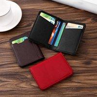 Cüzdan zovyvol erkek kaplı deri kart tutucu birden fazla slot banka chuck katman inek derisi moda basit cüzdan değişimi unisex çantası