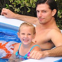 수영장 액세서리 수영 야외 물 PVC 안전한 내구성 가정 휴대용 블루 휴가 바다 풍선 패션