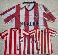 Retro Classic Chivas Regal 1996 1997 2007 Jerseys de football Guadalajara 60 100 110 115 ans Chemise de football