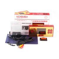 Portable Game Players для Ретро RS-20 F C Pocket Видеоигры Консоль Console ДЕТСКИЙ 2.6 дюйма красочные 600 портативных игровых кабелей PAL NTSC TV