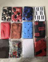 Alta Qualidade 80styles Moda Masculina Designer de Cetim Durags Bandana Turbante Perucas Homens Silky Durag Headwear Headband Headband Head Hat Chapéu Acessórios Para Cabelo