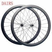 Rodas de bicicleta 1440G 700c Disco Wheelset 22mm CLINCHER Tubeless Novatec D411 412SB Lock Central XD Cubo Roda de Carbono 30mm Largura
