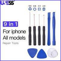 1000pic 9 In1opening Pry-Set-Kits Zerlegen Werkzeuge für iPhone Alle Modelle x 8 7 6 xs für Mobiltelefonreparaturwerkzeuge Kit