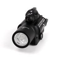 Tactical X400 Light Combo Pistola a LED Gun Red Laser Torcia elettrica Scout Rail Mount per la caccia