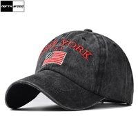 Northwood New York Letter Baseball Cap for Men Cato Women Summer Hat Ny Hip Hop Bone Snapback Father hats Sun Trucker CaD8JX
