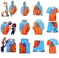 """Slam Dunk 2"" James Jersey 3D Impresión digital con cremallera Suéter camiseta de manga corta"