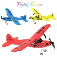 RC Electric Airplane Telecomando piano RTF Kit EPP Foam 2.4G Controller 150 metri Voto Distanza Aereo Global Hot Toy
