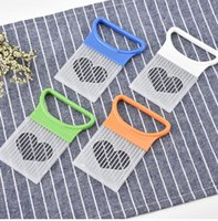 Kitchen Tools Cut Onion Holder Fork Stainless Steel +Plastic Vegetable Slicer Tomato Cutter Metal Meat Needle Gadgets Frok