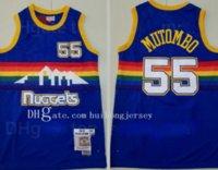 Mitchell Ness Baloncesto Jersey Dennis Rodman 10 Isiah Thomas Jersey 11 Grant Hill 33 Dikembe Mutombo 55 Carmelo Anthony 15 Throwback