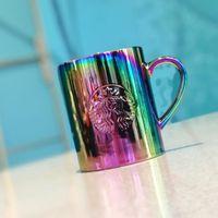 Starbucks Tumbler 355ml Colorful Ceramic Maker Classic Mermaid Logo Gradient colored coffee cup