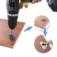 Professional Hand Tool Sets DIY Locator Accurate Woodworking Mounting Hinge Drilling Jig Guide Door Hole Opener Concealed Cabinet Accessorie