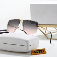2021 Top Qualität Polarisierte Sonnenbrille Frauen Männer Klassische Quadratische Sonnenbrille Mode Eyeware UV400 Sommer Stil Full Frame Schutzlinsen