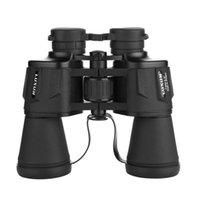Телескоп бинокль бинокуляр 20x50 Высокая волшебство зум Porro HD мощный оптический широкоугольный на открытом воздухе