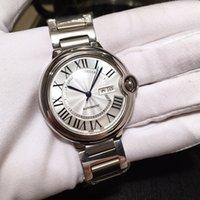 Лучшие продажи 42 мм мужские часы воздушные шар серии Sapphire Moving автоматическое механическое модное дело классики часы мужские 316L ремешок из нержавеющей стали