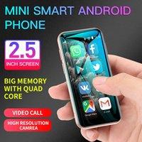Neueste Android Mobiltelefon Mini Smartphone Dual Sim Quadcore Cellphones Studenten Touchscreen 3G Smartphone HD Camera Mobiltelefone