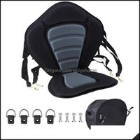 Rafts Inflatable Paddling Water Sports & Outdoorsrafts Inflatable Boats -Marine Kayak Seat Padded Deluxe Canoe High Back Comfortable Backres