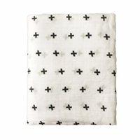 Многофункциональный Aden Anais 100% Bamboo Волоконно-модуль для новорожденных Одеяла для новорожденных Одеяла Black White Bathal Bath Towel Soft