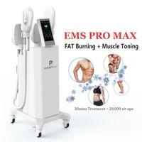 العيادة استخدام HIEMT التخسيس آلة تحفيز العضلات الكهرومغناطيسي EMS الجسم الكنتوري مكافحة السيلوليت العضلات مشجعا التنغيم