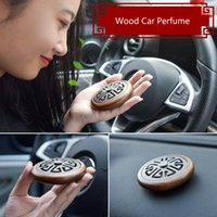 Interior Decorations Car Perfume Supplies Black Walnut Auto Decoration Piece Solid Zeolite Fragrance Smell For Accessories