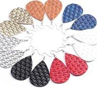 De boa qualidade Brincos de couro falso moda Declaração de mulheres Dangle Droping Brincos para mulheres brincos de banquete jóias 91 T2