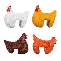 프레임 클립 사다리 암 탉 수지 장식 동상 재미 있은 닭 동물 클램핑 계단 그림 실내 야외 가든 농장 잔디 장식