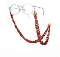 Акриловые очки цепь цепные очки Fashion Солнцезащитные очки ремешка для очков для женщин ремень повесить на шеи солнечные золотые цепи