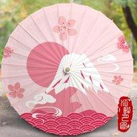 우산 장식 우산 중국 스타일 오일 종이 여성 일본 벚꽃 언덕 고대 댄스