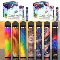 Kangvape Onee STIC يمكن التخلص منها السجائر الإلكترونية 1900 و 2200 نفث 6.2ML 5٪ سعة 1100mAh البطارية 16 ألوان تسليم 3-7days