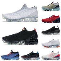 NikeAirVapormax3.0FlyknitVaporMax 2021 varış vapourmax koşu TN artı ayakkabı erkek kadın üçlü siyah beyaz kapalı oreo pembe kırmızı Spor Sneakers Fly Knit 3Trainers