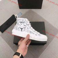 Dior b23 shoes Kinderschuhe Frauen Männer Casual Canvas Sneakers zeigen Stil Topliebhaber Qualität EUR35-46