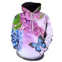 Men's Hoodies & Sweatshirts Warm Fleece Men 2021 Spring Autumn 3D Print Hip Hop Streetwear Casual Hoody Man's Clothing EU SZIE 6XL