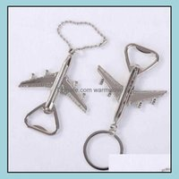 Openers Kitchen Tools Kitchen, Dining Bar Home & Gardenopeners Aircraft Plane Shape Beer Opener Keyring Birthday Wedding Party Gift Airplane