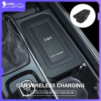 For volvo xc60 s90 v90 2020 s60 v60 Qi Car Wireless Charger Induction Fast Charging 2015 2019 2020 xc90