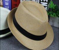 الرجال والنساء بنما القش القش القبعات فيدورا بخيل بريم القبعات قبعة لينة للجنسين 8 ألوان الصيف الشمس بيتش PS2950