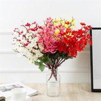 Декоративные цветы венки один поддельный зимний левый