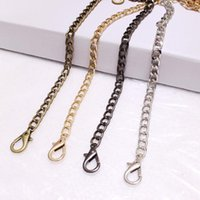 Bag Parts & Accessories Silver Light Gold 8mm Metal Replacement Purse Chain Shoulder Crossbody Strap For Cluth Small Handbag Handle