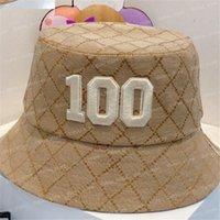 Lüks Bonnet Kasketleri Tasarımcılar Güneş Beyzbol Kapaklar Kova Şapka Erkek Bayan Yaz Plaj Sunhat Balıkçının Şapka Casquette Golf Kap